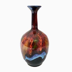 Glasierte Steingutvase von Giovanni Poggi für San Giorgio Albissola Ceramics