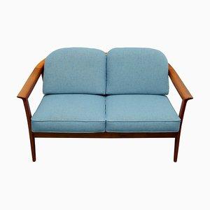 Sofa aus Kirschholz von Walter Knoll / Wilhelm Knoll, 1960er