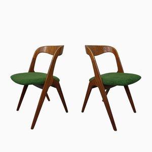Mid-Century Teak Stühle von Vamo Sondeborg, 1960er, 2er Set