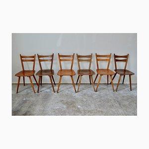 Scandinavian Bistro Chairs, Set of 15