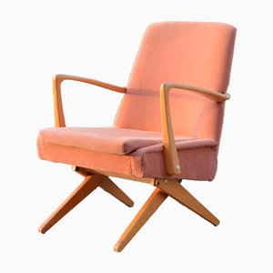 Mid-Century Transformable Scissor Easy Chair