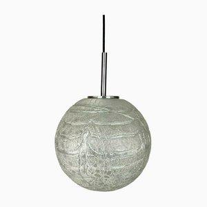 Mid-Century Space Age Glaskugel Lampe von Doria