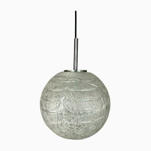 Mid-Century Space Age Glass Ball Lamp from Doria
