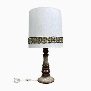 Mid-Century Tischlampe aus Keramik