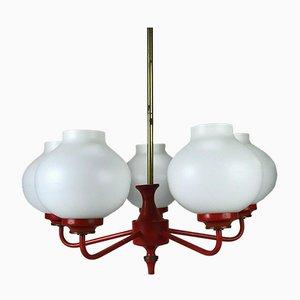 Ball Kronleuchter Lampe, 1970er