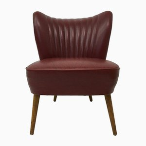 Red Skai Cocktail Chair, 1950s