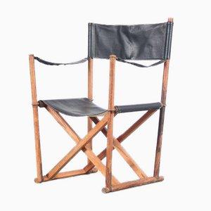 MK16 Safari Chair von Mogens Koch, Dänemark, 1930er