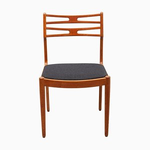 Danish Dining Chairs by J. Andersen, Set of 4