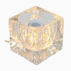 Kleine Eiswürfel Lampe aus Glas von Peill & Putzler, 1960er