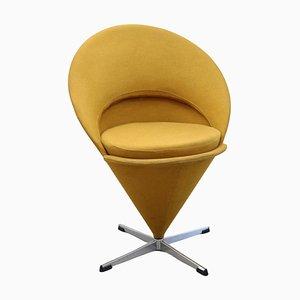 Cone Chair in Original Fabric by Verner Panton, Denmark, 1960s