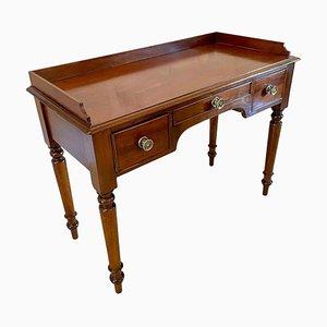 Viktorianische Esszimmerstühle aus Mahagoni, 4er Set