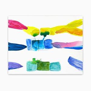 Laura Newman, Bonbon, 2012, Öl & Acryl auf Leinwand