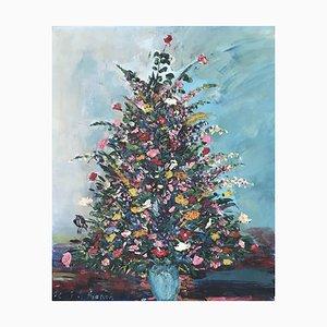 J.L. Frasson, Bouquet d'hiver, 1962, Oil on Canvas