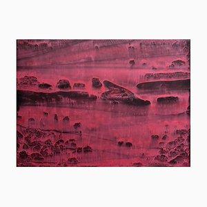 Li Chi-Guang, The Red Mountain Series No.21, 2018, Tinte auf Papier