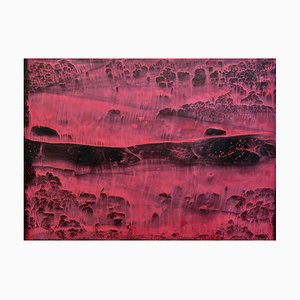 Li Chi-Guang, The Red Mountain Series No.16, 2018, Ink on Paper
