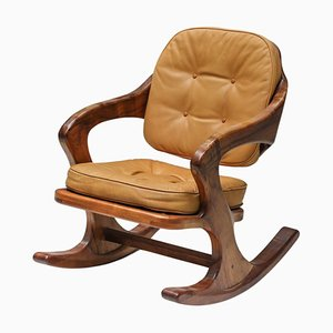 American Studio Furniture Chair in the Style of Wendell Castle