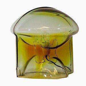 Lampada da tavolo Medusa in vetro di Umberto Riva per VeArt, Italia