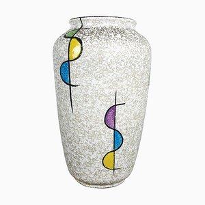 Fat Lava Pottery 575 25 Vase von Bay Ceramics, Germany, 1950er