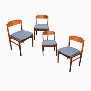 Dining Room Chairs, Denmark, 1960s, Set of 4