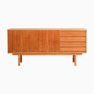 Skandinavische moderne Teak Sideboards mit abnehmbarer Tischplatte