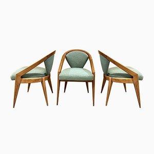 Stühle, USA, 1950er, 6er Set