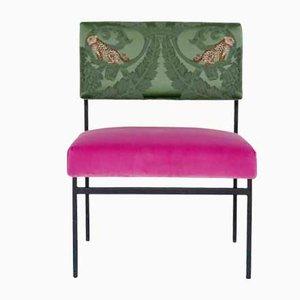 Aurea Bio Lounge Chair in Velvet & Silk by D3CO