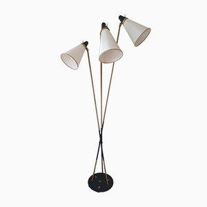 Verstellbare Lampe von Lunel, 1960er
