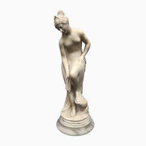 Venus Skulptur, 1800er, Alabaster