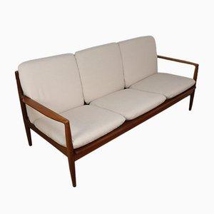 Skandinavisches Teak Sofa, 1960er