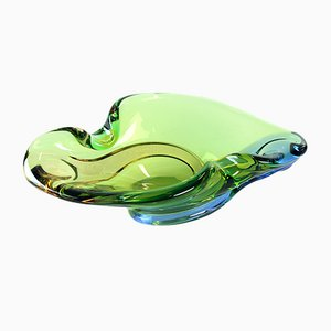 Art Glass Bowl by Frantisek Zemek for Mstisov Glass Factory, Czechoslovakia, 1960s