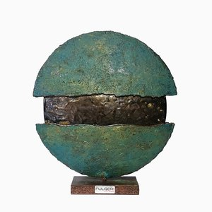 Fulgeri Marco, Eclipse Skulptur, Keramik & Emaille