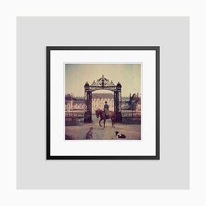 Slim Aarons, Equestrian Entrance, Print on Photo Paper, Framed