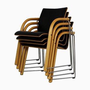 S320 Stühle von Wulf Schneider & Ulrich Böhme für Thonet, 1980er, 4er Set