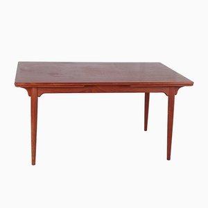 Vintage Extendable Dining Table in Teak, by Gunni Omann for Omann Jun Furniture Factory, Denmark,1960s