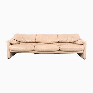Maralunga 3-Seater Sofa by Vico Magistretti for Cassina, 1990s