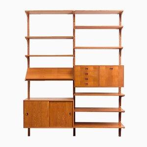 Großes Teak Regalsystem von Thygesen & Sørensen für Hg Furniture, Dänemark, 1960er
