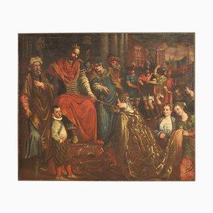 Mythologisches Gemälde, 17. Jh., Öl auf Leinwand, Gerahmt