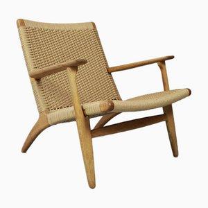 Model CH25 Lounge Chair by Hans J Wegner for Carl Hansen & Son