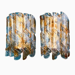 Vintage Murano Glass Wall Lamp or Sconce, Italy, 1970s