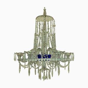 Antique Cut Glass Russian Chandelier, 1800s
