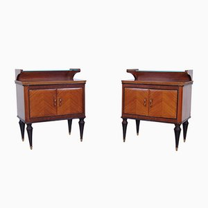 Bedside Tables by Arosio, 1960s, Set of 2