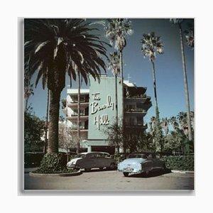 Slim Aarons, Beverly Hills Hotel, Druck auf Fotopapier, gerahmt