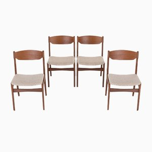 Dänische Esszimmerstühle, 4er Set