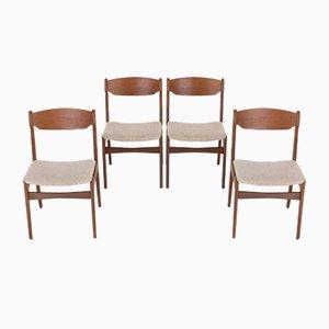 Danish Dining Chairs, Set of 4