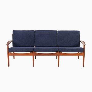 Mid-Century Sofa von Arne Vodder für Glostrup