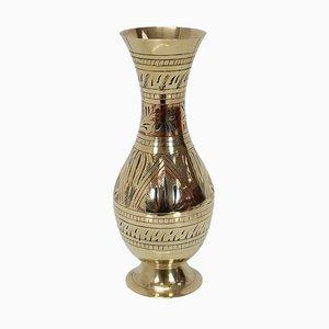 Mid-Century Brass Vase, 1960s