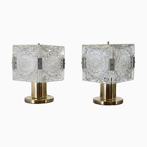 Table Lamps by Kamenicky Senov, 1970s, Set of 2