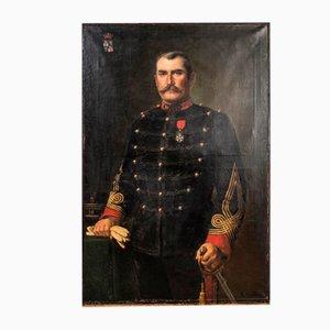 Großes französisches Offizier Portrait