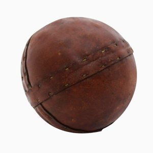 Art Deco Leather Ball, 1920s