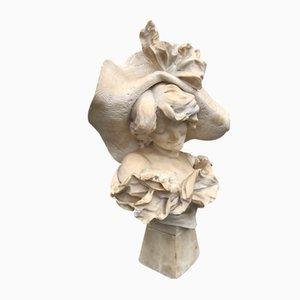 Maiden with Hat, Alabaster